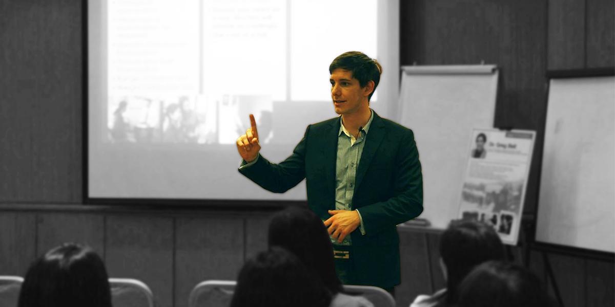 Greg Bell Public Speaking