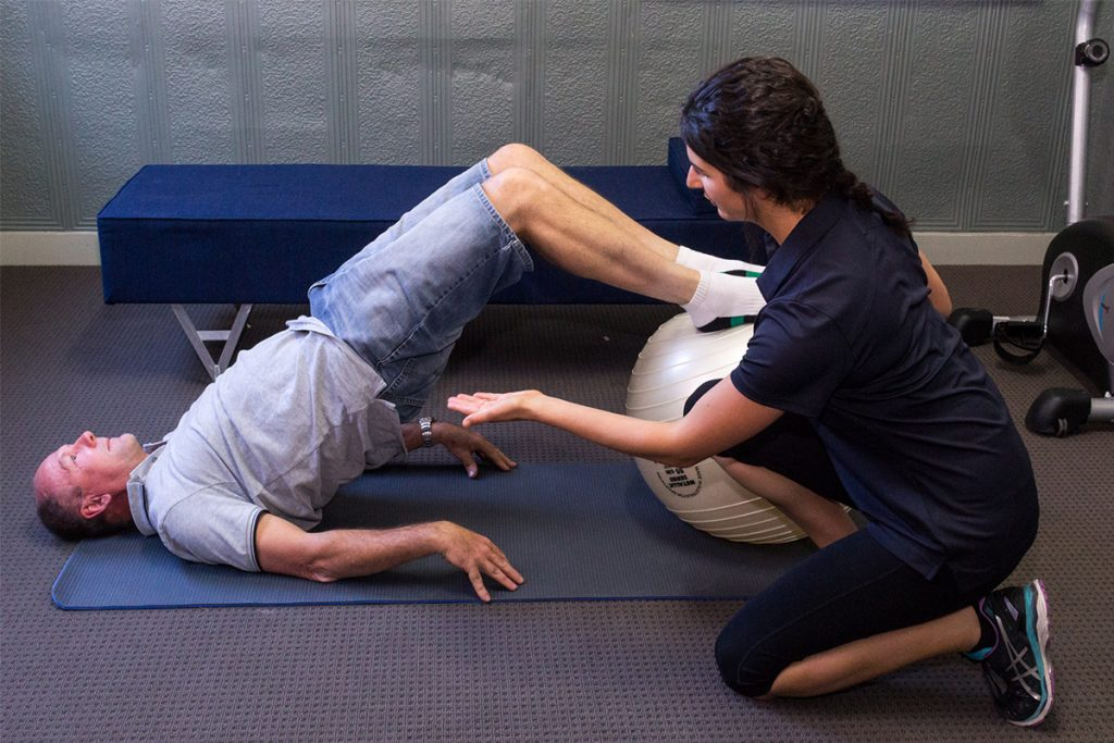 Physiotherapy with Rachel